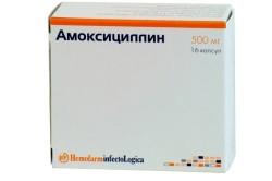 Амоксициллин от ангины