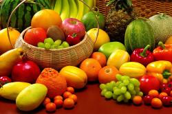 Употребление фруктов при ангине