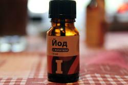 Лечение тонзиллита йодом