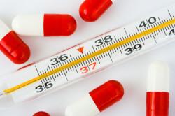 Высокая температура - симптом ангины