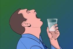Полоскание горла при фолликулярной ангине