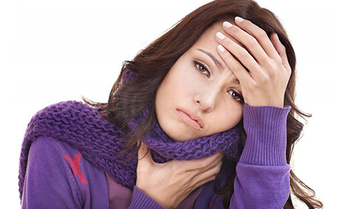 Непонятная причина боли в горле