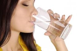 Обильное питье при ангине