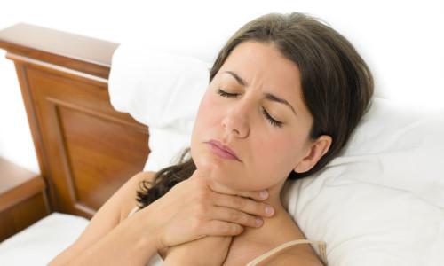 Возникновение боли в горле