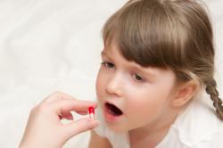 Прием антибиотиков при ангине у детей