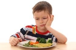 Отсутствие аппетита - симптом ангины у детей