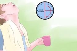 Польза полоскания горла при ангине