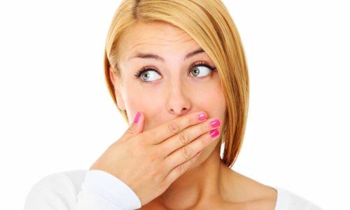 запах изо рта при сыроедении
