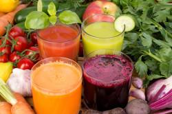 Польза овощных соков при ангине