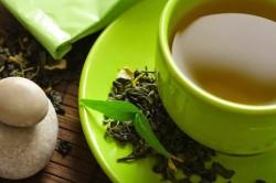 Польза зеленого чая при ангине